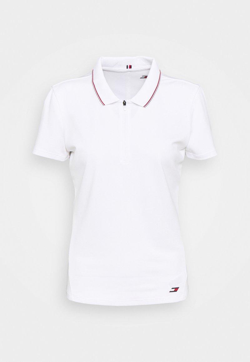 Tommy Hilfiger - SLIM POLO - Polo shirt - white