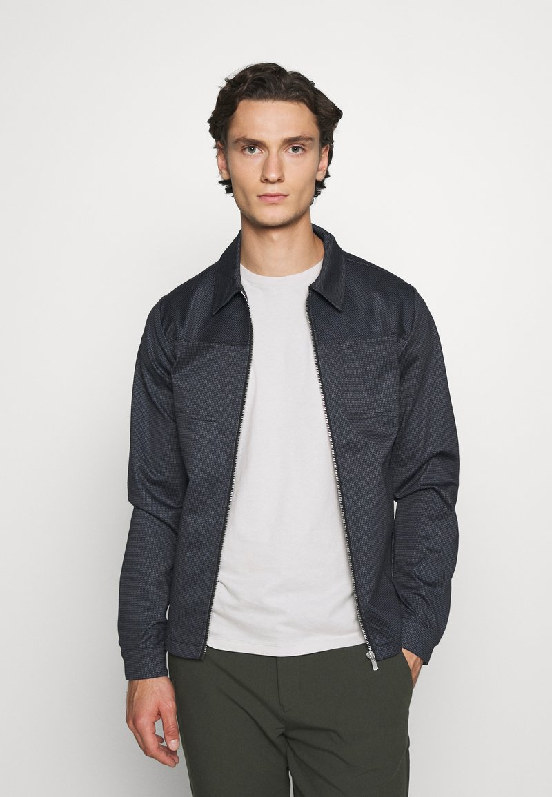 Jack & Jones PREMIUM - JPRBLAPHIL SWEAT - Summer jacket - navy blazer