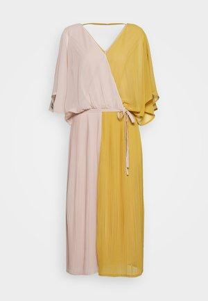 BENEDICT CALF LENGTH DRESS - Day dress - rose