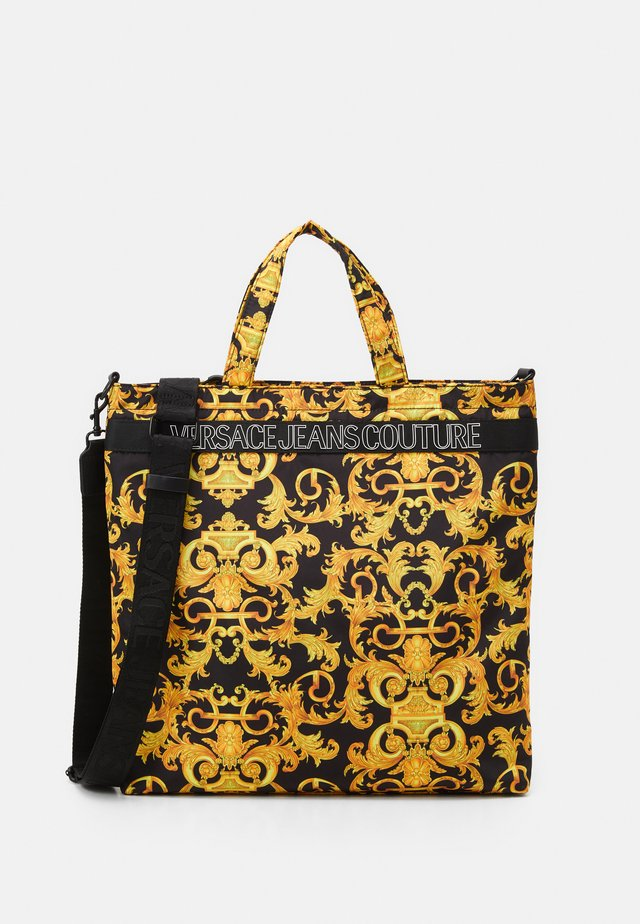 UNISEX - Shopping Bag - black/gold