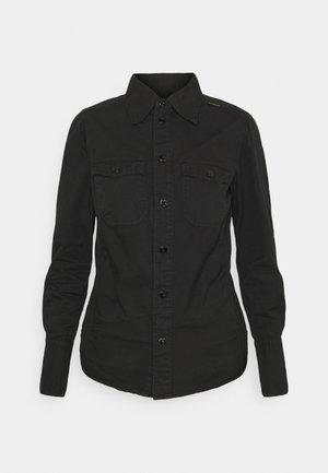 KICK BACK SHIRT - Skjortebluser - black