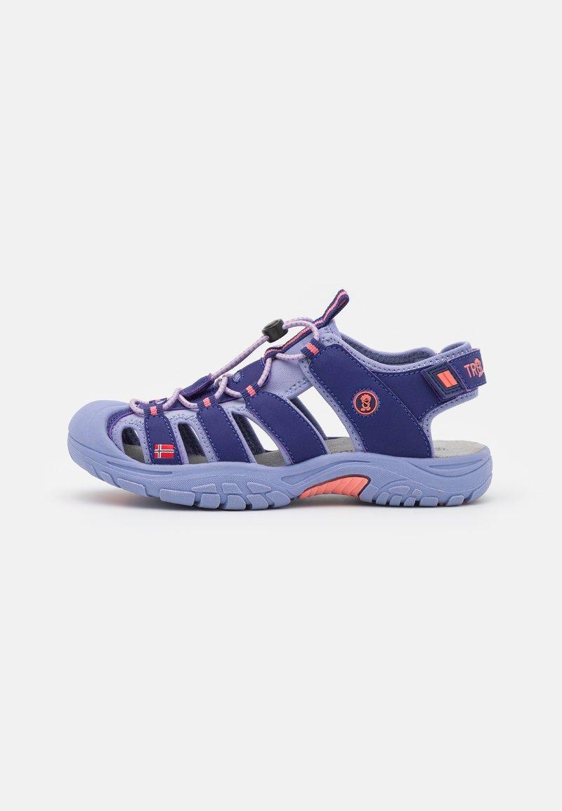 TrollKids - KIDS KVALVIKA UNISEX - Walking sandals - dark purple/lavender