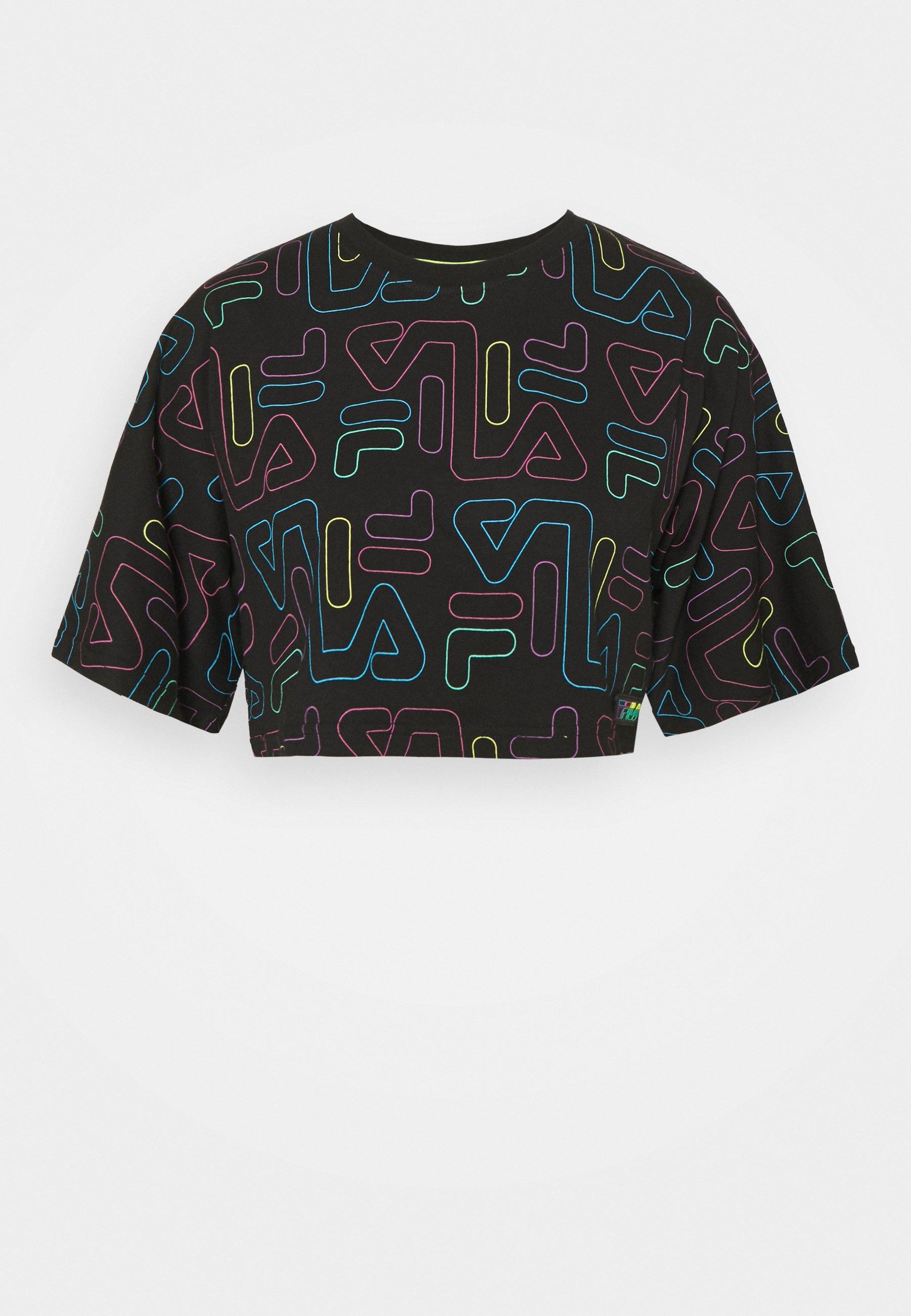Damen SUSAN WIDE CROPPED TEE - T-Shirt print
