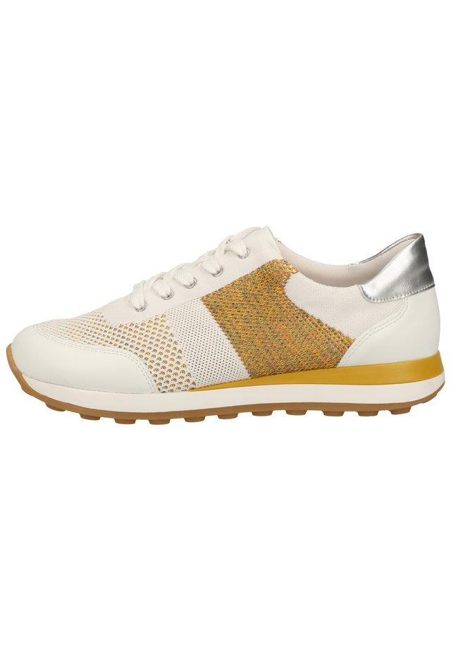 REMONTE SNEAKER - Sneakersy niskie - weiss/weiss-multi/silver / 81