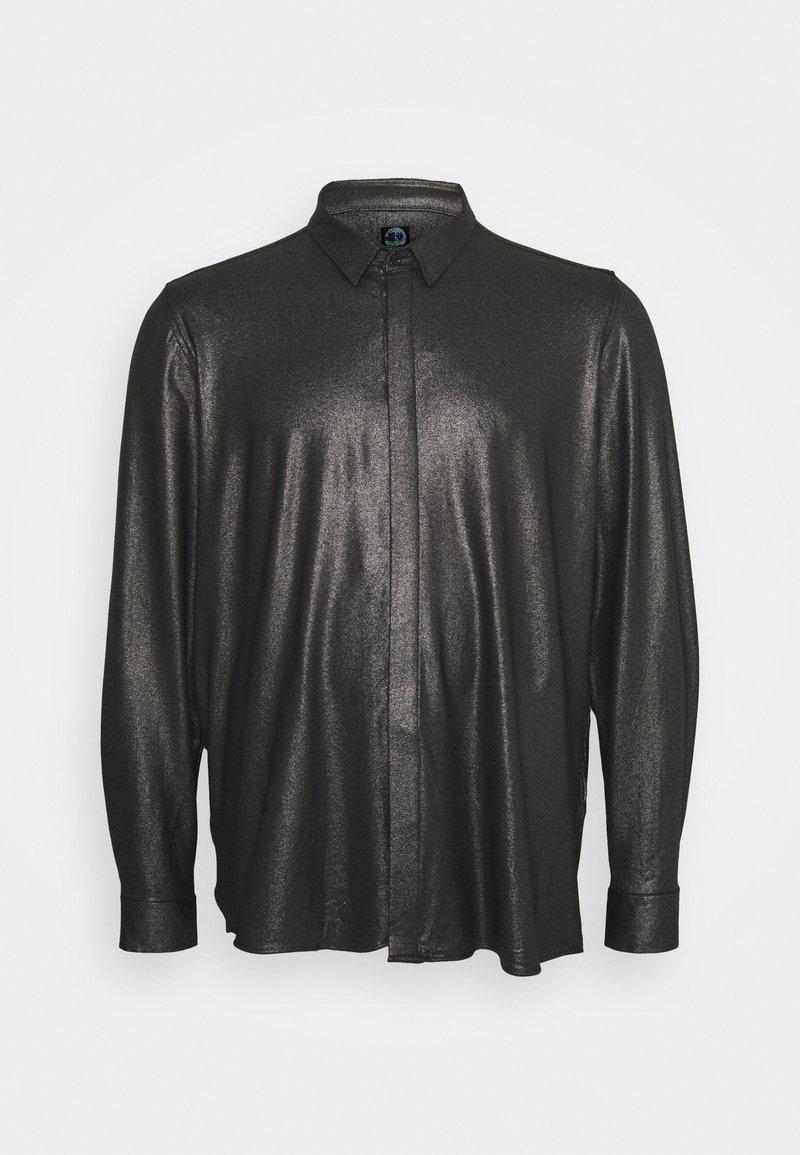 Twisted Tailor - SLEDGE SHIRT PLUS - Košile - black