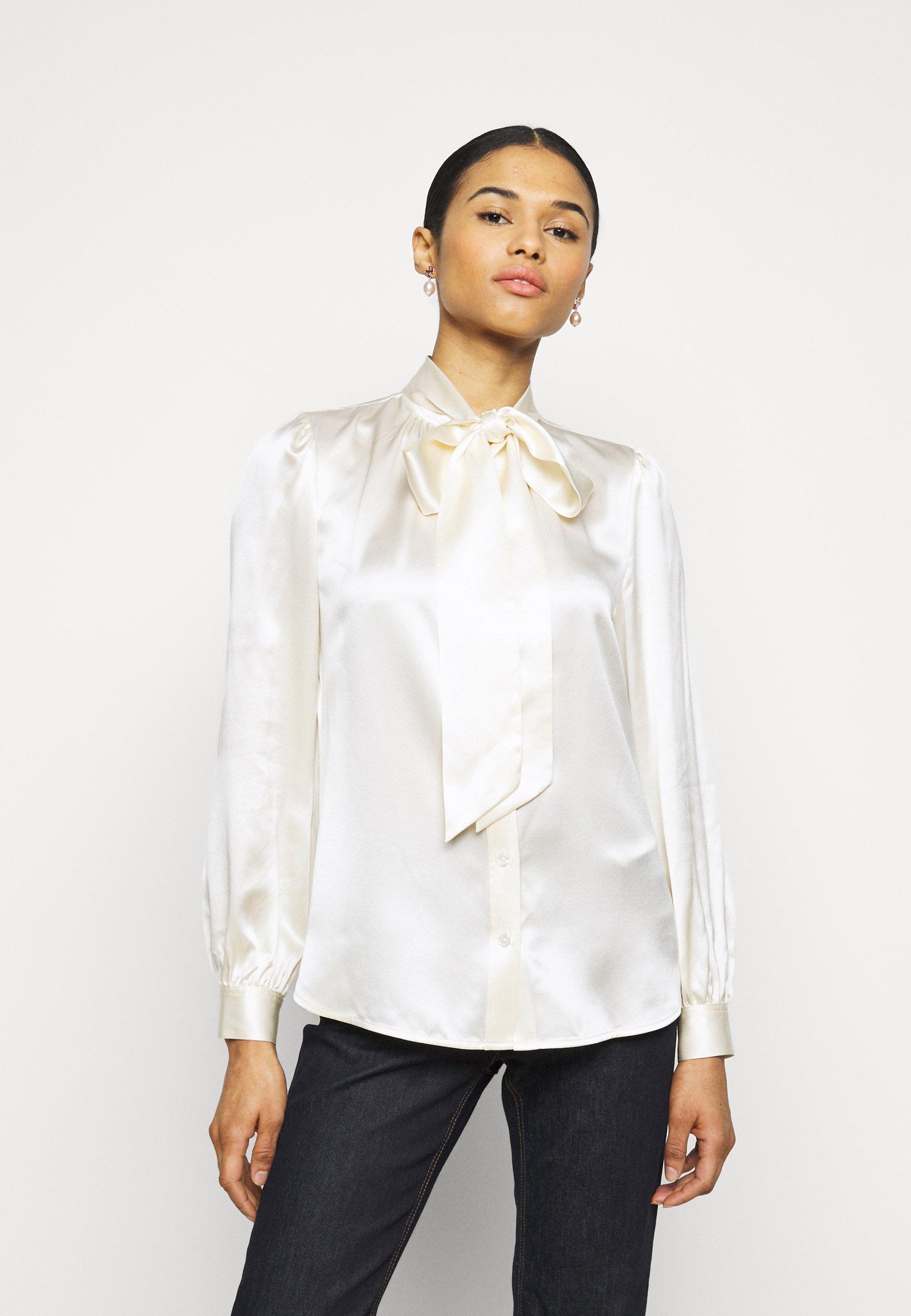 Women BOW BLOUSE - Button-down blouse