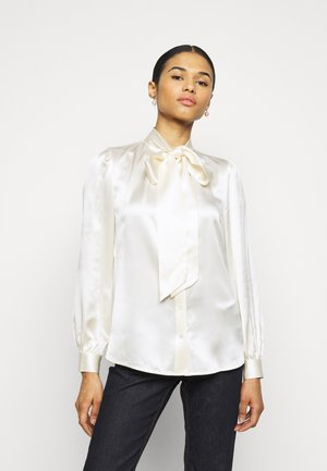 BOW BLOUSE - Košile - new ivory