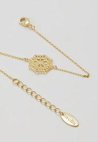 Orelia - PRETTY FILIGREE DISK CHAIN BRACELET - Bracelet - gold-coloured - 4