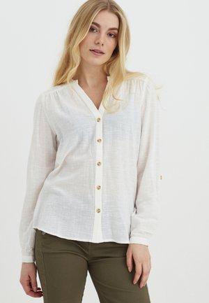 Button-down blouse - antique