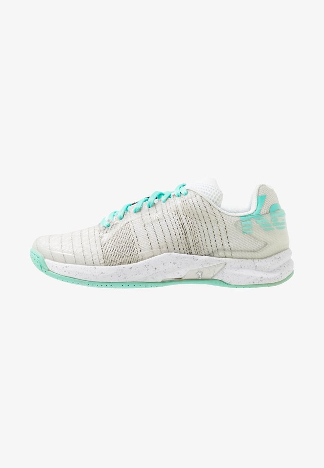 ATTACK ONE WOMEN CONTENDER - Chaussures de handball - white/turquoise