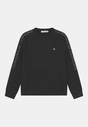 SHADOW LOGO TAPE - Sweatshirt - black