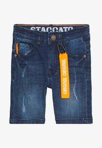 Staccato - BERMUDAS KID - Jeansshort - mid blue denim - 2