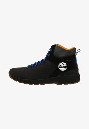 WESTFORD - Lace-up ankle boots - black nubuck wgry
