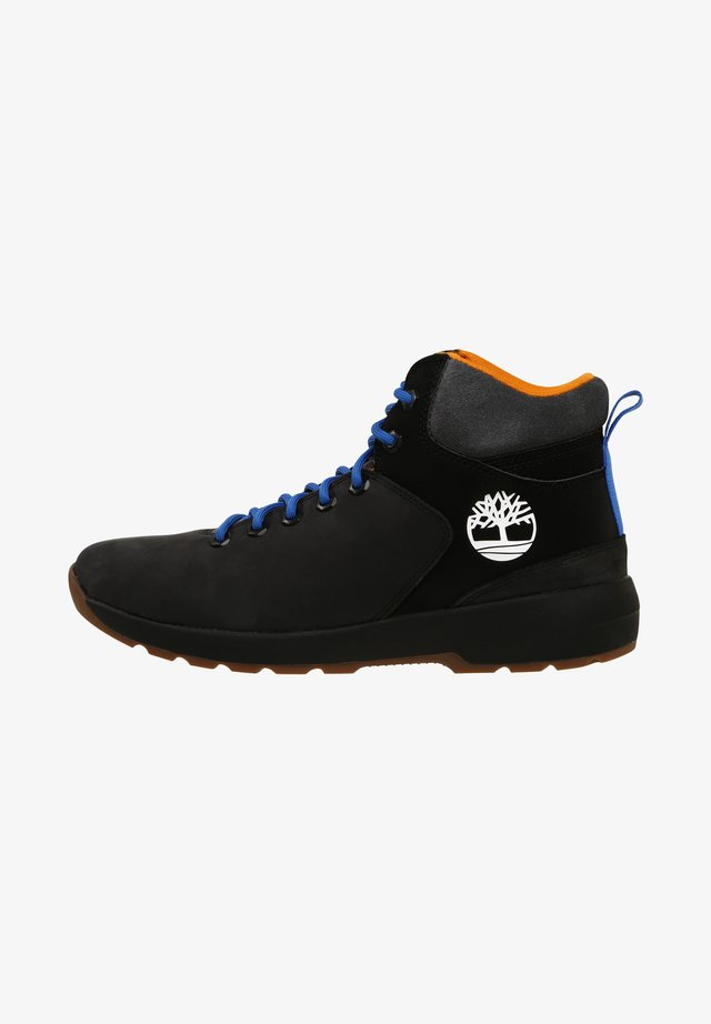 WESTFORD - Bottines à lacets - black nubuck wgry