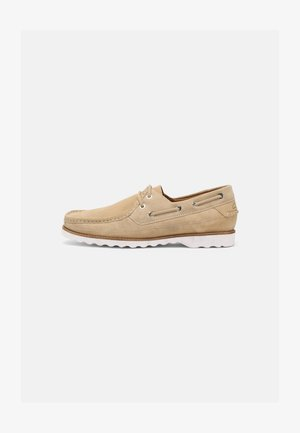 DURLEIGH SAIL - Boat shoes - taupe