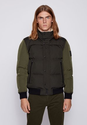 OSK - Down jacket - open green