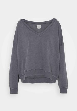 NECK CROP - Jumper - dark gray