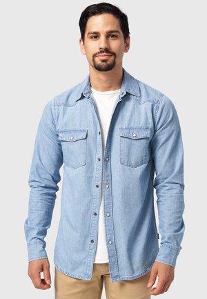MIKE - Shirt - blue wash