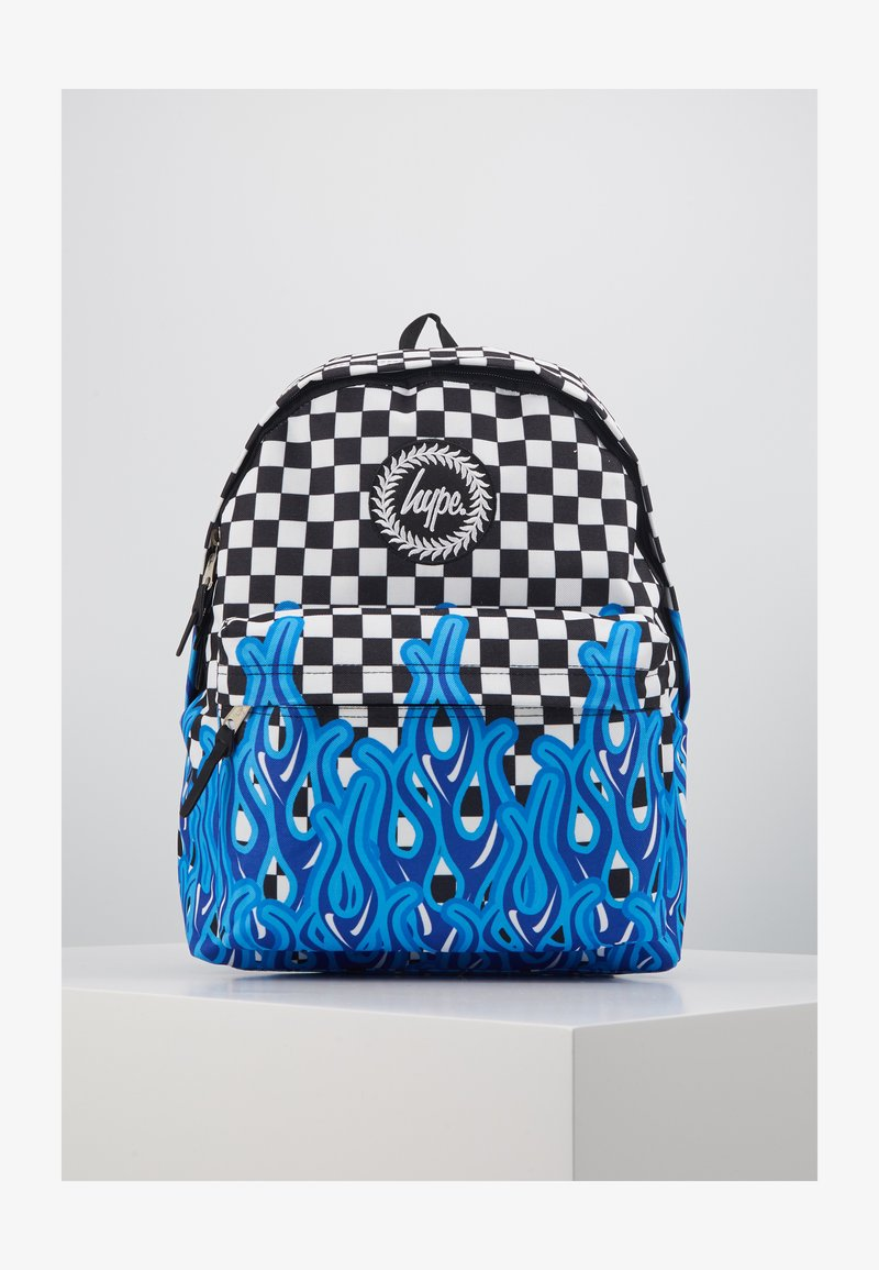 Hype - BACKPACK CHECKERBOARD FLAME - Rucksack - multi