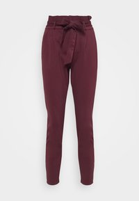 LOOSE PAPERBAG  - Trousers - port royale