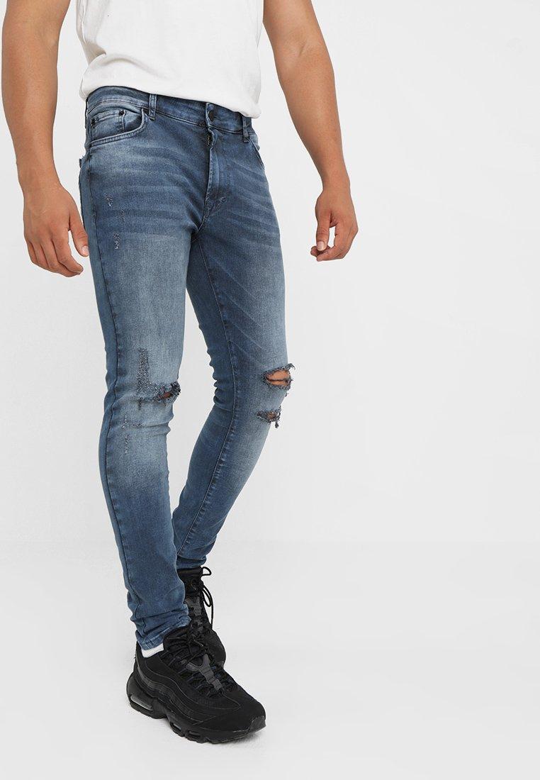 YOURTURN - Jeans Skinny Fit - dark blue