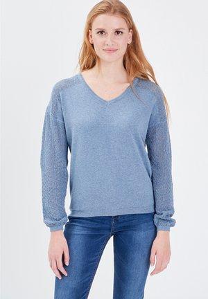 Maglione - bleu gris