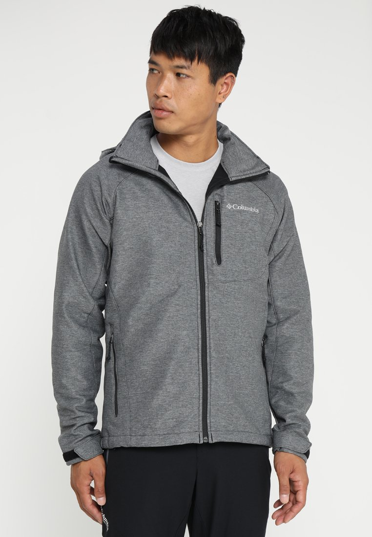 Columbia - CASCADE RIDGE  - Softshelljacke - mottled grey