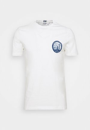 SPORT TEE - T-shirt print - off-white