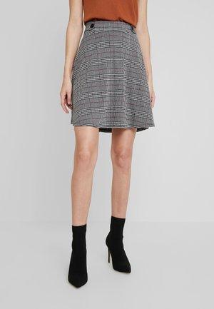 SKIRT - A-line skirt - garnet red