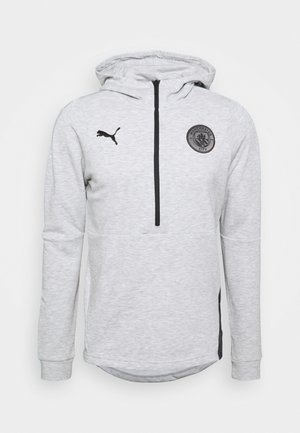 MANCHESTER CITY CASUALS HOODY - Club wear - light grey