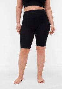 Zizzi - NAHTLOSE  - Shorts - black - 0
