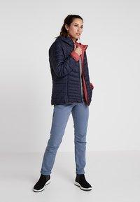Salomon - DRIFTER HOODIE - Outdoor jacket - garnet rose/night - 1