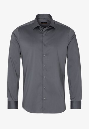 SLIM FIT - Zakelijk overhemd - silbergrau