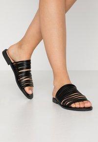 BEBO - RIA - Pantofle - black - 0