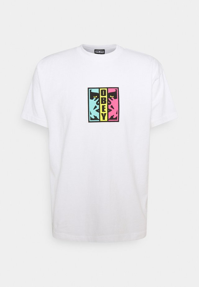 DIVIDED - T-shirt print - white