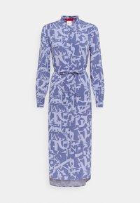 MAX&Co. - PERUGIA - Shirt dress - light blue - 6