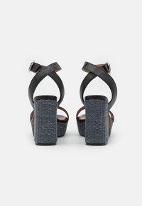 LAB - Platform sandals - black - 3
