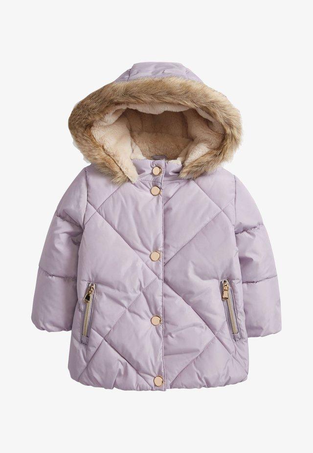 Talvitakki - purple
