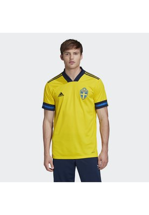 SWEDEN SVFF HOME JERSEY - National team wear - yellow/indigo