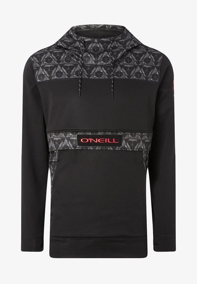 Jersey con capucha - black out