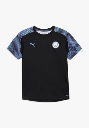MANCHESTER CITY TRAINING - Equipación de clubes - puma black/team light blue