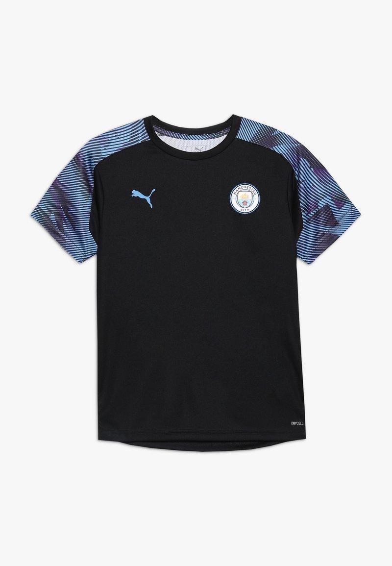 Puma - MANCHESTER CITY TRAINING - Club wear - puma black/team light blue