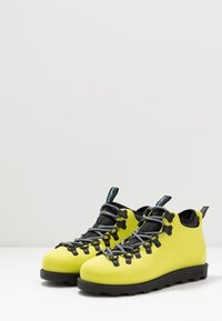 Native - FITZSIMMONS CITYLITE - Lace-up ankle boots - safety yellow/ jiffy black - 2
