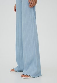 PULL&BEAR - Trousers - stone blue denim - 5