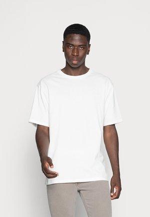 ESSENTIAL CREW NECK - T-shirt basic - off white
