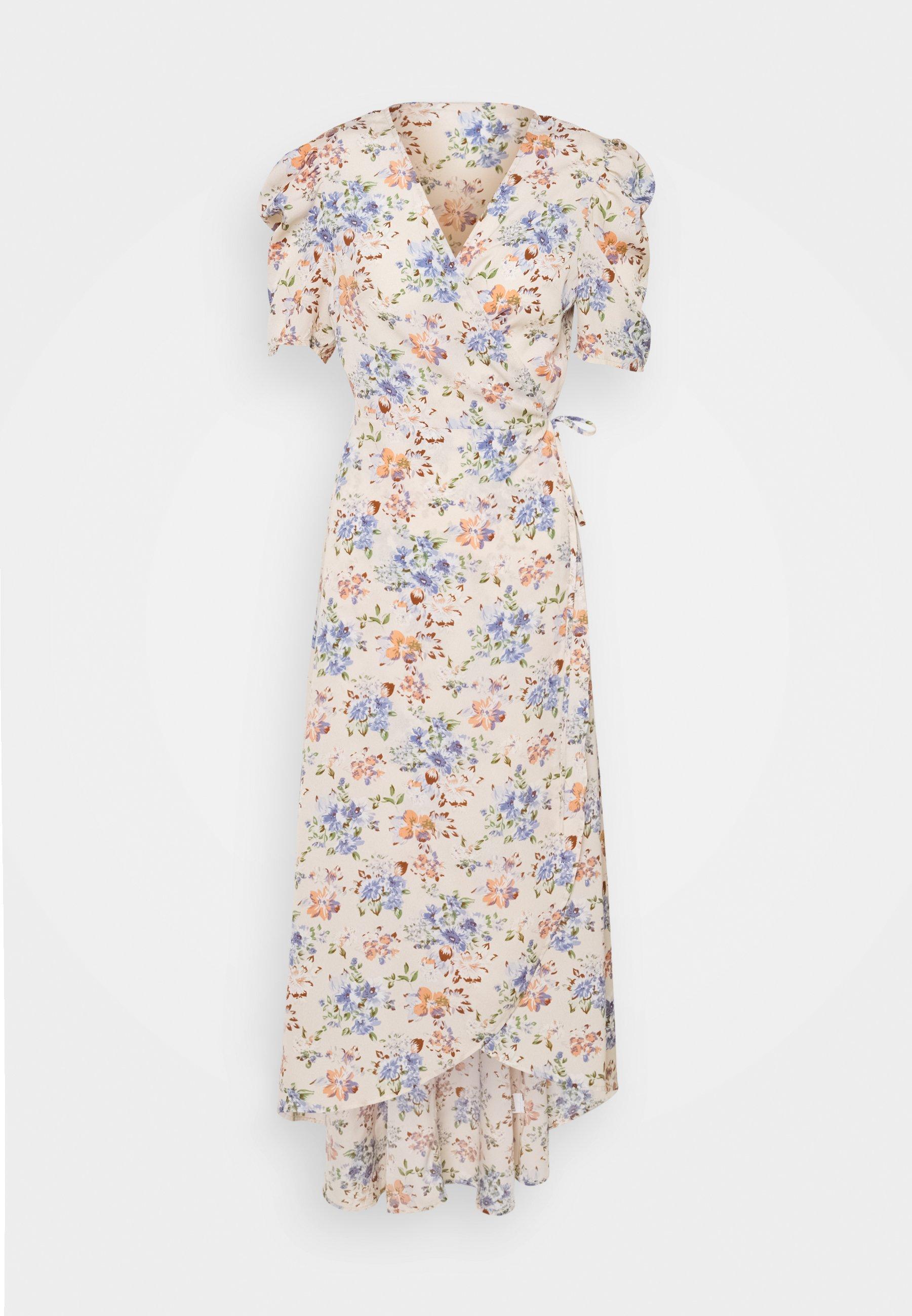 Mujer HIGH LOW PUFF MIDI DRESS  - Vestido informal