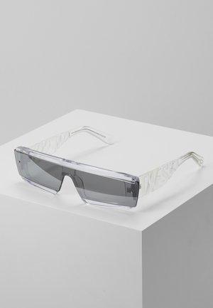 Sunglasses - crystal/smoke mirror