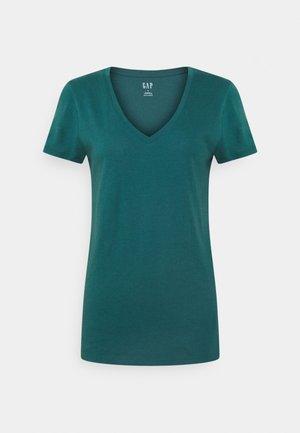 Basic T-shirt - velvet teal