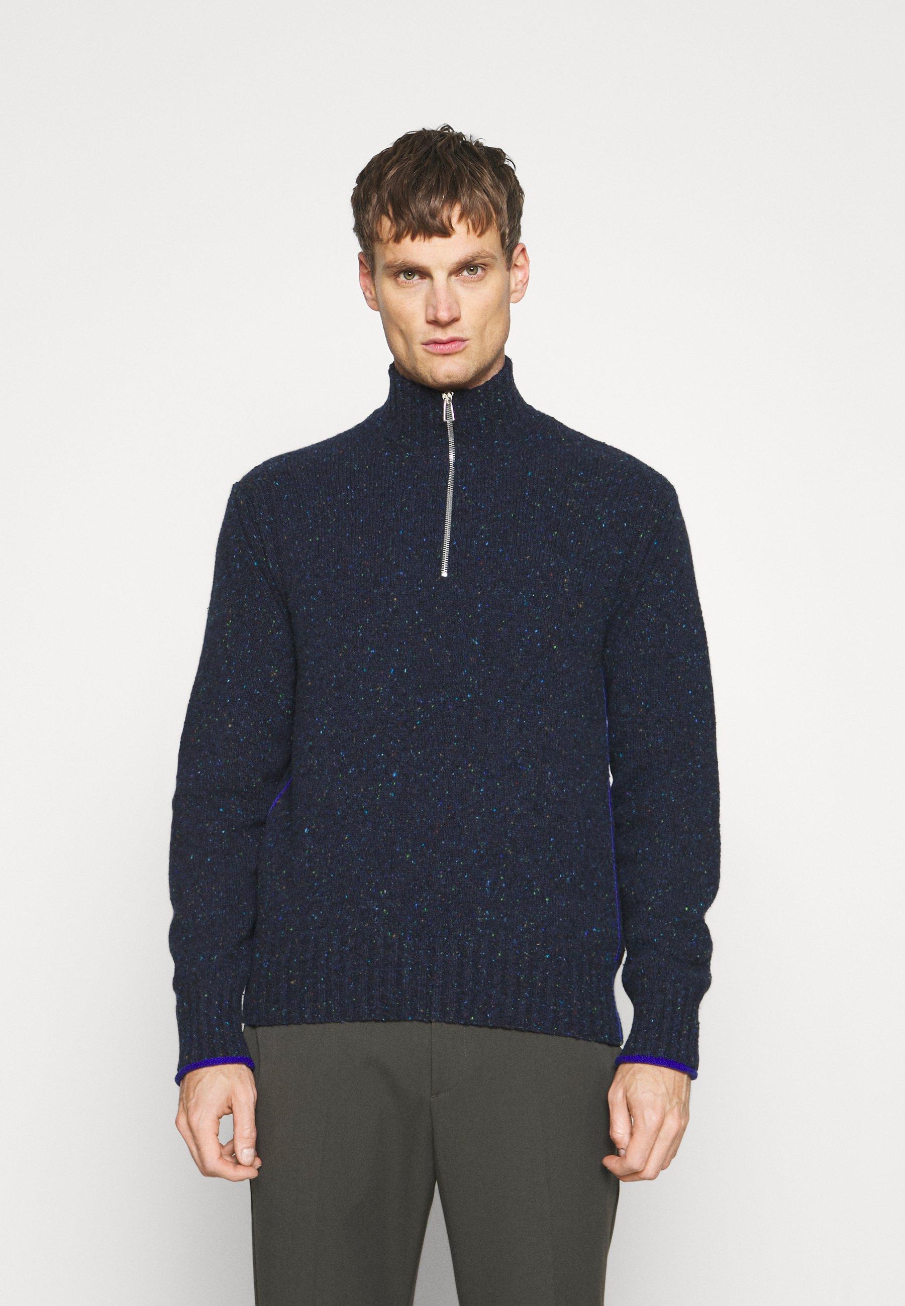 Homme ZIP NECK - Pullover