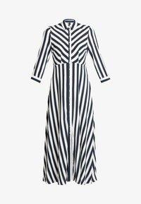 YAS - YASSAVANNA LONG DRESS - Maxi dress - carbon/star white - 5